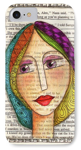 Mujer Phone Case by Delein Padilla