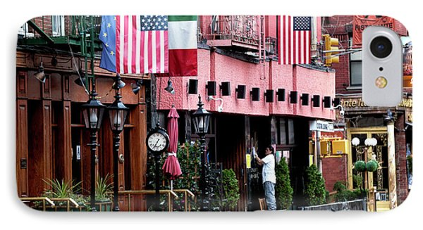 IPhone Case featuring the photograph Mulberry Street Pride by John Rizzuto