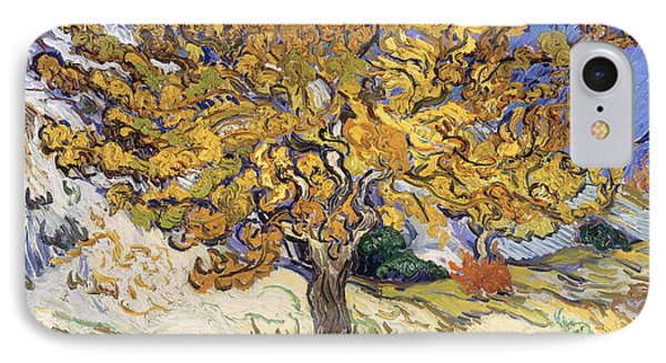 Mulberry Tree IPhone Case by Vincent Van Gogh