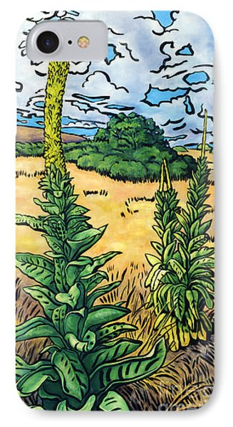 Mullein Phone Case by Fay Biegun - Printscapes