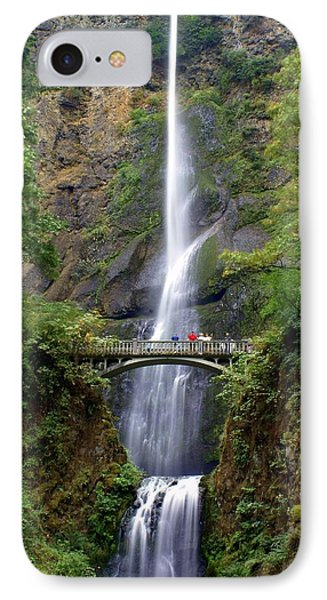 Multanomah Falls Phone Case by Marty Koch