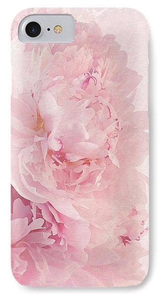 Artsy Pink Peonies IPhone Case by Sandra Foster