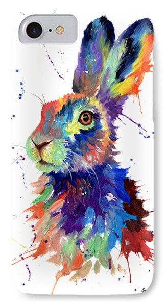 Multi Colour Hare IPhone Case