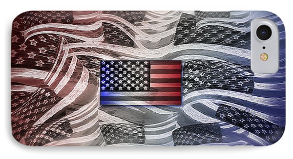 Multi - Flag Abstract 2 IPhone Case by Steve Ohlsen