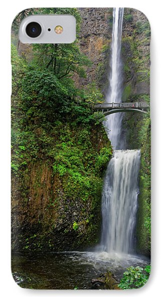 Multnoma Falls IPhone Case by Jonathan Davison