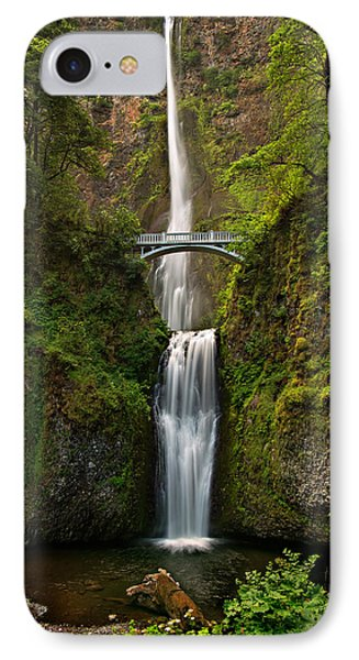 Multnomah Falls IPhone Case by Mary Jo Allen