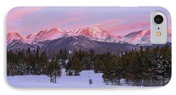 Mummy Range Winter Sunrise IPhone Case by Aaron Spong