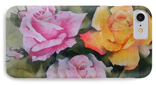 Mum's Roses IPhone Case