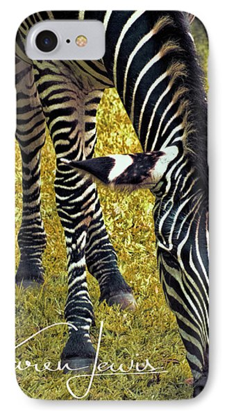 IPhone Case featuring the photograph Munch Time by Karen Lewis