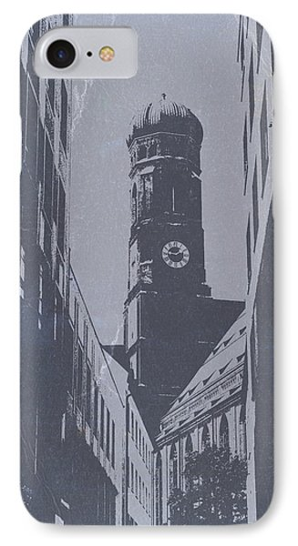 Munich Frauenkirche IPhone Case