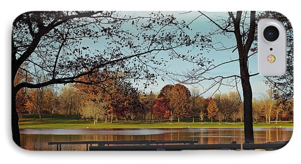Munroe Falls Metropark IPhone Case by Donna M Bungo