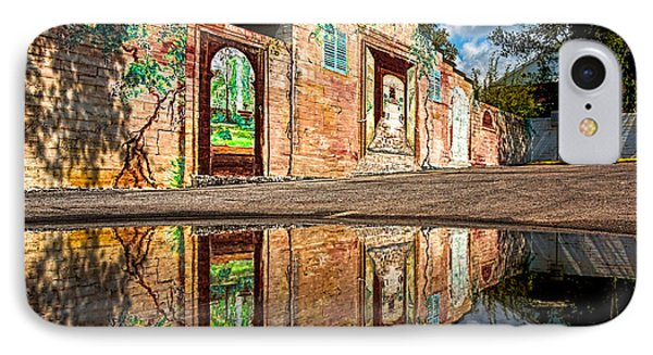 Mural Reflected Phone Case by Christopher Holmes