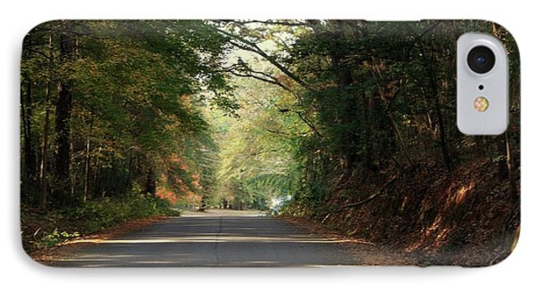 IPhone Case featuring the photograph Murphy Mill Road by Jerry Battle
