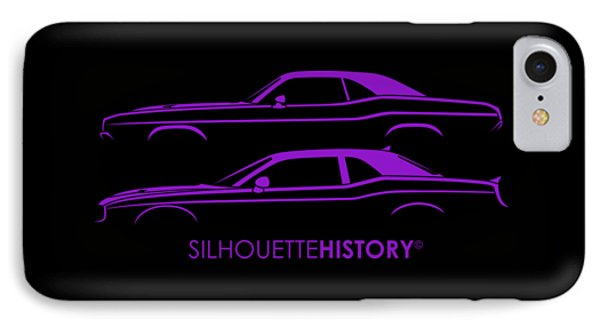 Muscle Pony Silhouettehistory IPhone Case by Gabor Vida