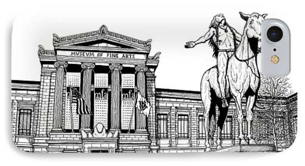 Museum Of Fine Arts Boston IPhone Case