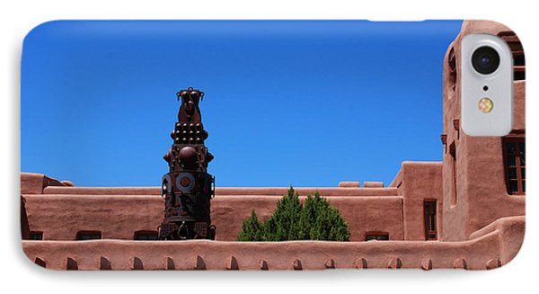 Museum Of Indian Arts And Culture Santa Fe Phone Case by Susanne Van Hulst