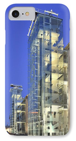 IPhone Case featuring the photograph Museum Reina Sofia  by Marek Stepan