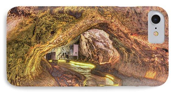 Mushpot Cave IPhone Case by Richard J Cassato