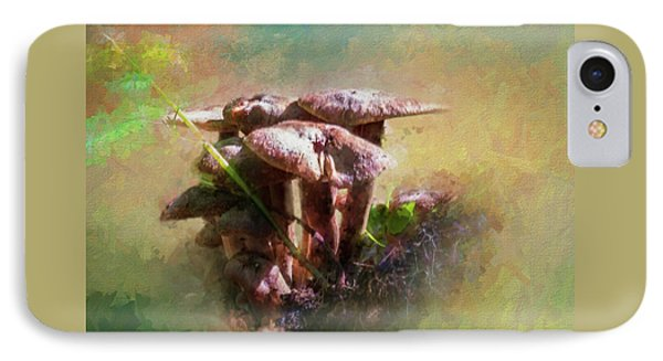 Mushroom Patch IPhone Case by Marvin Spates