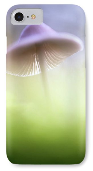 IPhone Case featuring the photograph Mushroom Ufo by Dirk Ercken
