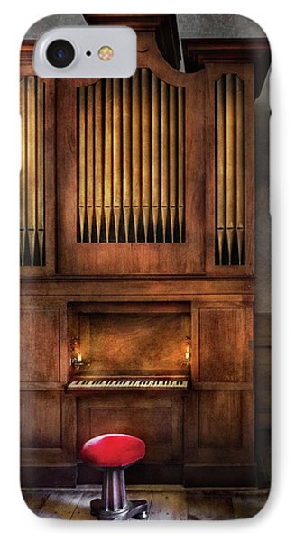 Music - Organist - What A Big Organ You Have  Phone Case by Mike Savad