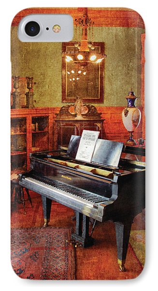 Music - Piano - It's A Long Long Way To Tipperary Phone Case by Mike Savad