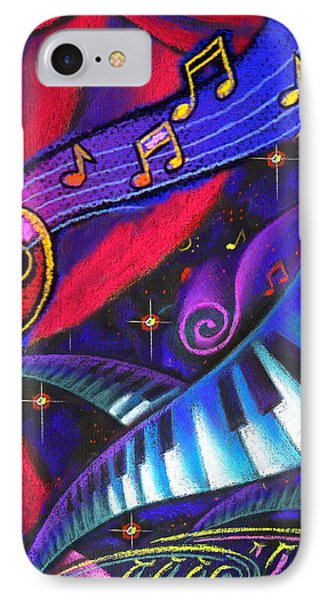 Music And Harmony IPhone Case by Leon Zernitsky
