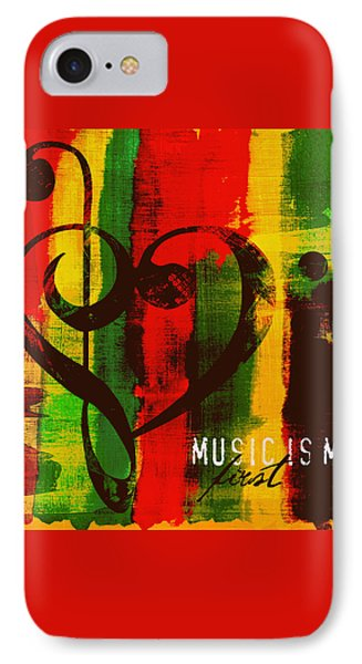 Music Is My First Love V3 IPhone Case