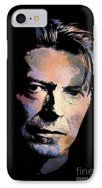 IPhone Case featuring the painting Music Legend 2 by Andrzej Szczerski