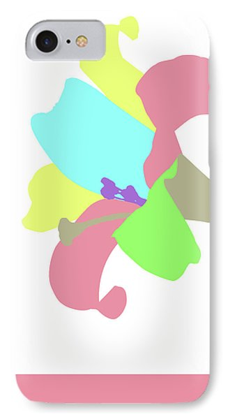 IPhone Case featuring the digital art Music Notes 12 by David Bridburg