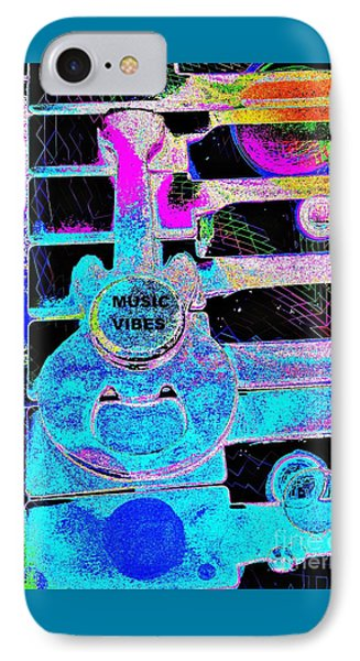 Music Vibes By Jasna Gopic IPhone Case by Jasna Gopic