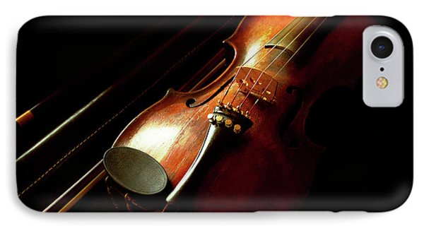 Music - Violin - The Classics IPhone Case by Mike Savad