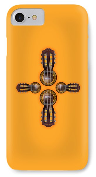 Musical Cross Phone Case by Doron Mafdoos