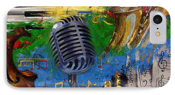Musical Fusion IPhone Case