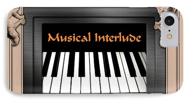 Musical Interlude Phone Case by Will Borden