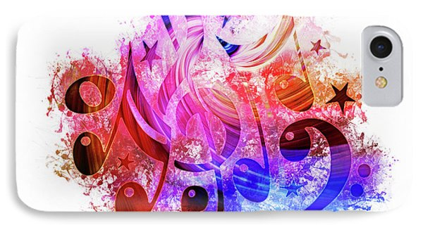 Musical Notes Art IPhone Case