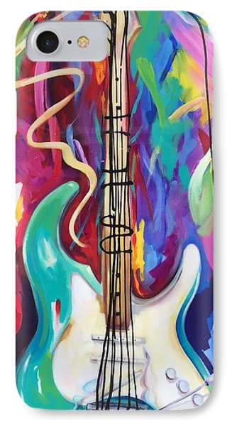 Musical Whimsy  IPhone Case by Heather Roddy