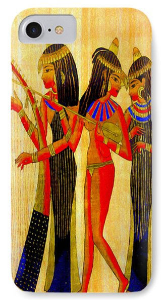Musicians Of Egypt - Pa IPhone Case