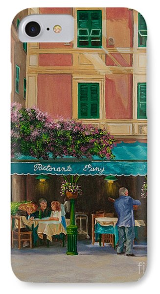 Musicians' Stroll In Portofino IPhone Case by Charlotte Blanchard