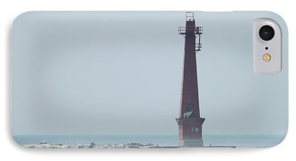 Muskegon South Pierhead IPhone Case