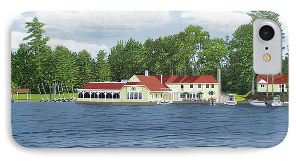 IPhone Case featuring the painting Muskoka Lakes Golf And Country Club by Kenneth M Kirsch