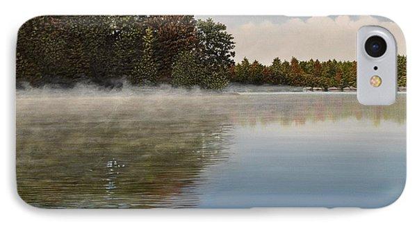 Muskoka Morning Mist Phone Case by Kenneth M  Kirsch