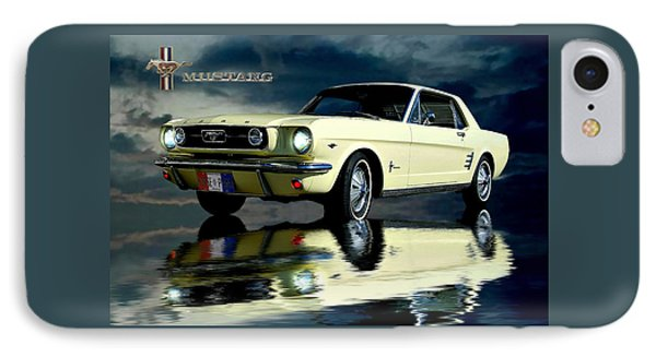 IPhone Case featuring the photograph Mustang by Steven Agius