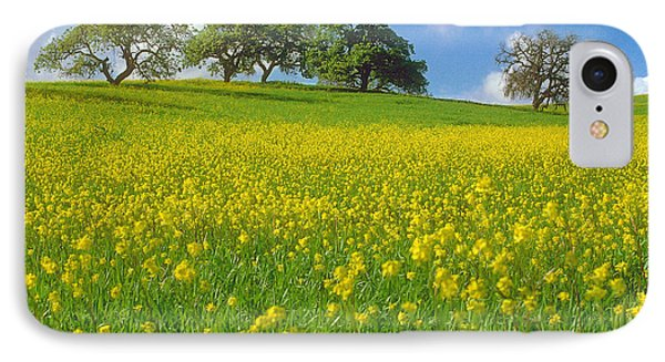 IPhone Case featuring the photograph Mustard Field by Mark Greenberg
