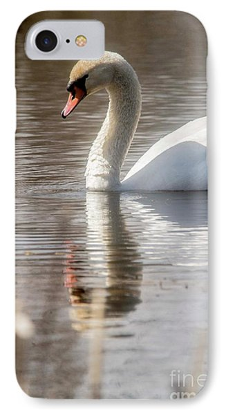 IPhone Case featuring the photograph Mute Swan - 2 by David Bearden