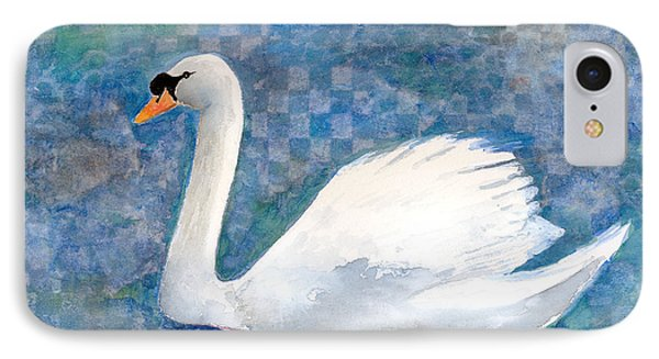 Mute Swan IPhone Case by Arline Wagner