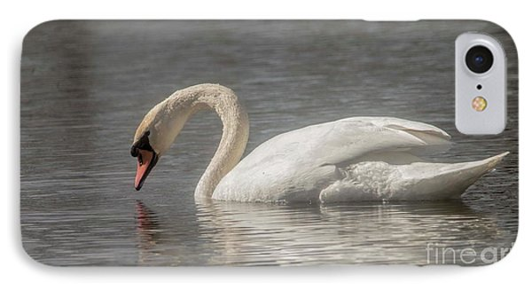 IPhone Case featuring the photograph Mute Swan by David Bearden