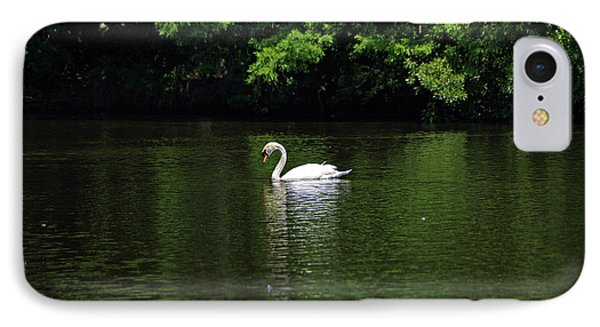 IPhone Case featuring the photograph Mute Swan by Sandy Keeton