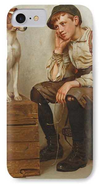 Mutual Admiration IPhone Case by John George Brown
