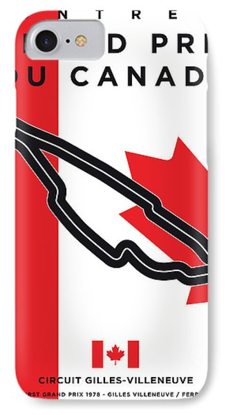 My 2017 Grand Prix De Canada Minimal Poster IPhone Case